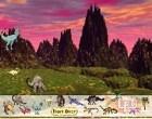 لعبة حديقة الديناصورات