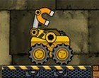 العاب توصيل الصناديق الشاحنة الصفراء