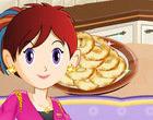 لعبة طبخ سارة شطيرة التفاح