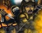 لعبة أبطال القوة الضاربة
