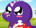 لعبة تلبيس طفل الديناصور